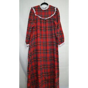 Vintage LL Bean by Lanz flannel nightgown size M